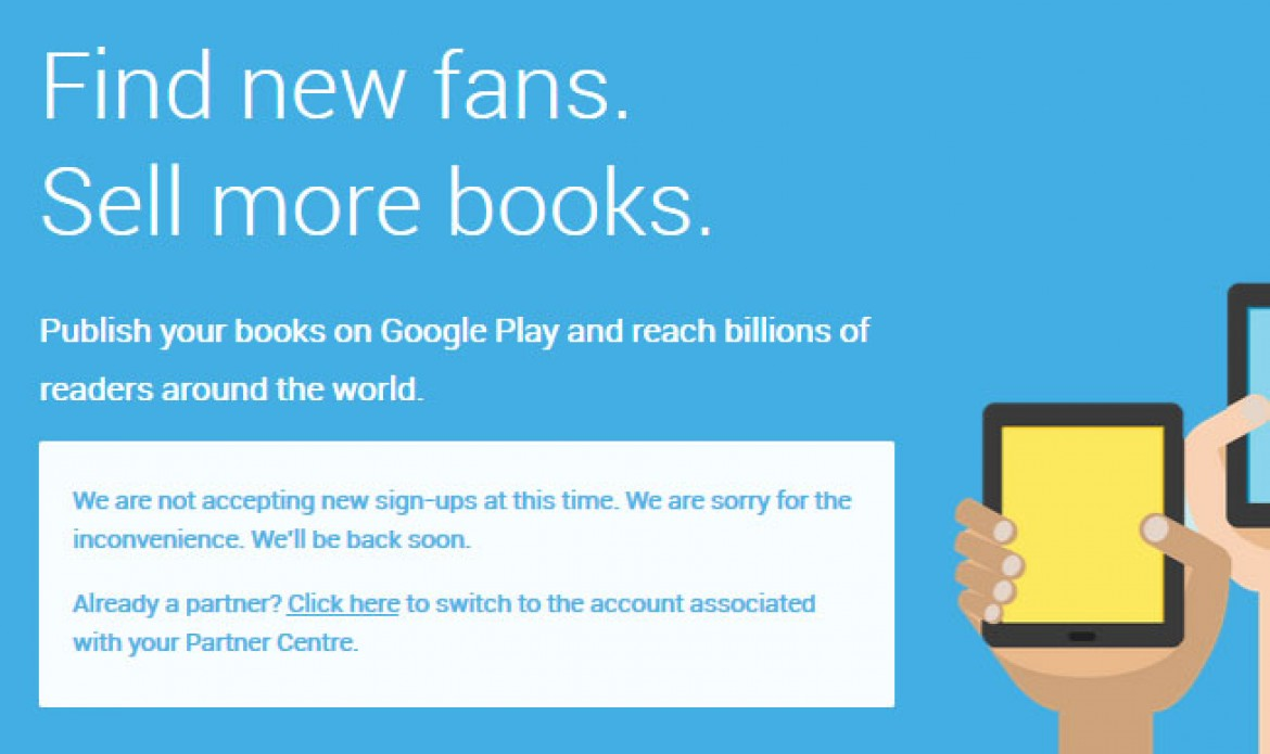 Google's Play Books… dead or not?